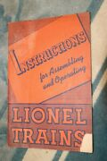 Antique 1942 Printing Lionel Toy Trains Owner's Instruction Manual