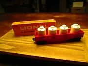 Lionel 6162-110 Gondola Car With Cannisters New York Central Type 4 1959-68