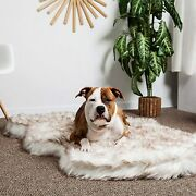 Luxury Faux Fur Orthopedic Dog Bed Memory Foam Dog Bed For Small Medium Large