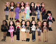 Lot Of Bratz Dolls Lot 2001 Mga Bratz Dolls Girlz Complete Outfit And Shoes 👠