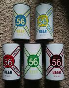 5 Andy's Cross Roads S/s Beer Cans August Schell Brewing Co. New Ulm Mn