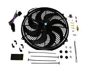 A-team Performance Radiator Electric Cooling Fan 16inch Heavy Duty 12v Wide C...