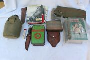 Miscellany Boy Scout Items Hats Books Utensils. Used. Good Condition.