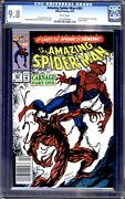 Amazing Spider-man 361 And 362 Both Newsstands Cgc 9.8 White Pages 1st Carnage
