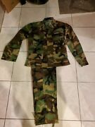 Us Military Bdu Field Uniform Pants And Jacket Womenand039s Size X-small New