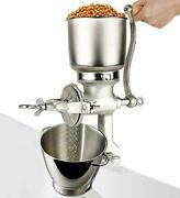 Moongiantgo Corn Grinder Mill Castiron Manual Grain Mill Hand Grinder With Large