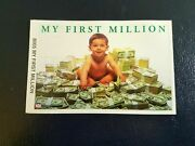8005 My First Million Starline Mini Poster 3 1/4 X 5 Inches