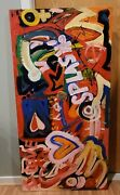 Original Detroit Many Artists African American Art Very Rare Painting On Canvas
