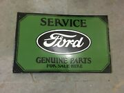 Porcelain Ford Service Sign Size 28 X 18 Inches Double Sided