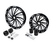 23 Front 18and039and039 Rear Wheel Rim Dual Disc Hub Fit For Harley Street Glide 08-2021