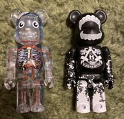 Bearbrick Be Rbrick100% Dr.romanelli,used, Good Condition/ Discontinued/ Japan