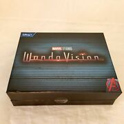 In Hand Unopened Wandavision Agatha Harkness Brooch And Necklace Prop Replica Set