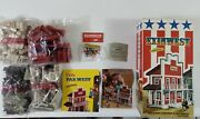 Exin West Hotel Set. Vintage Toy. New Pieces In Their Original Bags