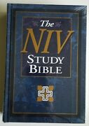 Sealed Niv Study Bible International Version Christ's Words In Red Personal Size