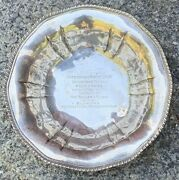Antique Polo Pony Trophy Sterling Black Starr And Frost Bowl 1923 Horse Show Award