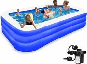 Inflatable Pool For Kids And Adults Kiddie Pool Inflatable Swimming Pool For