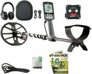 """Metal Detector With Eqx 11"""" Double-d Waterproof Coil"""