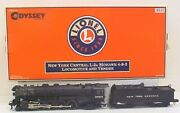 Lionel 6-38053 New York Central 4-8-2 L-2a Mohawk Steam Locomotive And Tender Ln