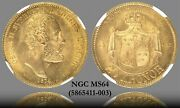 Sweden 1874-st Type 1 Gold 20 Kronor Km-733 Ngc Ms-64 Wwii Gold Hoard
