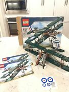 Lego 10226 Sopwith Camel 100 Complete W/ Box And Instructions, Unused Stickers