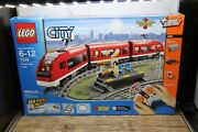 Lego City Passenger Train 2010 7938 - Complete And Working - Remote Controlled