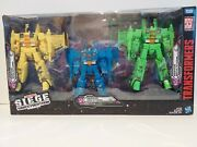 Transformers War For Cybertron Siege Seekers 3-pack Acid Storm, Ion Storm, And No