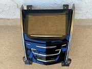 13-14 Cadillac Ats 14-15 Elr Climate Gps Touch Screen Face Panel Oem 84402534