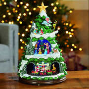 Disney Christmas Animated Tree With Lights And Music Mickey And Friends Rotating