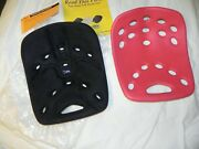 2 Backjoy Core With Plus Memory Foam Seat Black And Red One New One Used