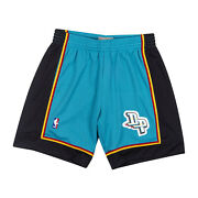 Detroit Pistons Mitchell And Ness Nba Authentic Swingman Menand039s Mesh Shorts Teal