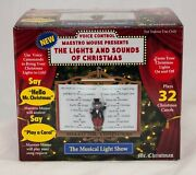 Mr. Christmas The Lights And Sounds Of Christmas Light Show Voice Control