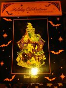 Christopher Radko Halloween Ghost Manor Collectible New In Box