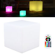 10 Led Cube Light Indoor And Outdoor Rgb Color Change Lamp Waterproof Us Plug