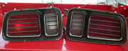 1971 Plymouth Cuda Tail Lights Assembly - Original And Complete -