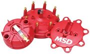 Msd Ignition 84085 Distributor Cap And Rotor Kit Fits 93-97 Ford F-150/250/350
