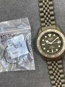 👍 Tag Heuer 1000 980.026 Olive Pvd Nos And Serviced Vintage Dive Watch Diver 844