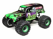 Losi 04021t1 Grave Digger Lmt Solid Axle Rtr 4wd Monster Truck