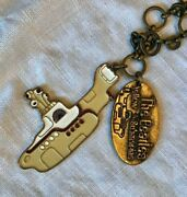 Lucky Brand Beatles Yellow Submarine Enamel And Brass Necklace