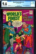Worldand039s Finest 173 Cgc Graded 9.6 - Second Highest Graded - 1st S.a. Two-face
