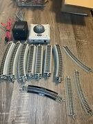 Big Lot Of Bachmann N Scale E-z Track Nickle Silver Includes Power Supply