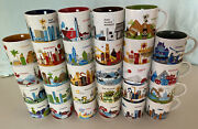 Starbucks The You Are Here Collection - Cities And Countries Buy 1 Or Buy All