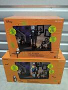 6ft Animated Jack And Sally Nightmare Before Christmas Halloween Prop Ships Fast