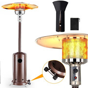 Ziothum Patio Heater Propane 45000 Btu With Wheels And Cover Outdoor Heaters Fo