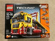 New Unopened Lego Technic 8109 Flatbed Truck + Power Functions Free Shipping