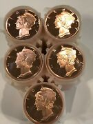 Mercury Dime 100 1 Oz Copper Rounds Over 6 Pounds Of Copper By Reedersong