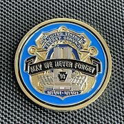 Usss Us Secret Service 9-11 20th Anniversary Challenge Coin