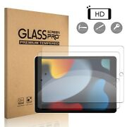 For Ipad 7th 8th 9th Generation 10.2 Inch 2021 Tempered Glass Screen Protector