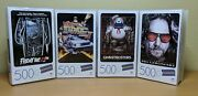 Lot Of 4 Blockbuster 500 Piece Movie Puzzles Ghostbusters Friday The 13th And More