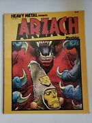 Heavy Metal Presents Arzach By Moebius Tpb 1977 Nm-