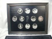 1973-74 Franklin Mint Official Coin-medals Of Indian Tribal Nations .999 Silver